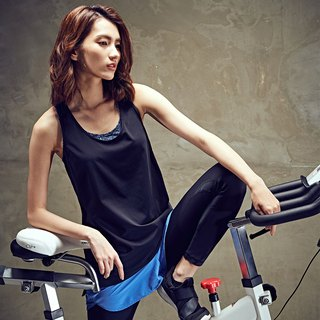 [MACACA] cool and comfortable sports blouse - ASA1191 black