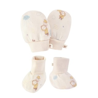 SISSO organic cotton cloud fly gauze gloves x foot package