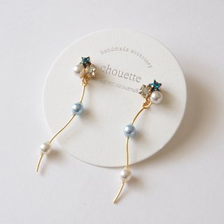 【14 kgf】 star pearl pierce blue