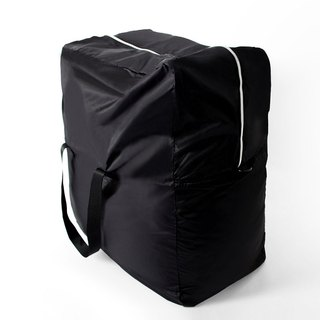 Large capacity storage bag. black