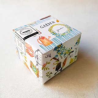 【hoppy】Mini Box-Garden day / 花園賞 園藝紙膠帶日 / GTIN : 4713077972366