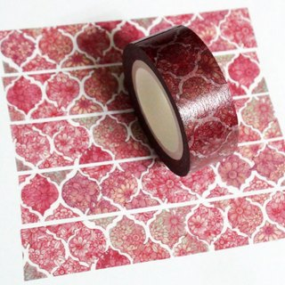 Masking Tape Red Lace
