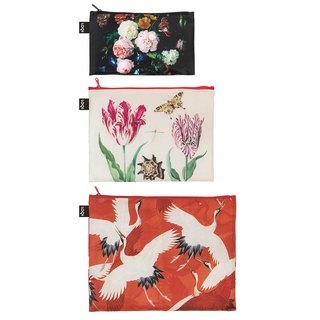 LOQI three into the group of storage bags / flowers ZPMURI