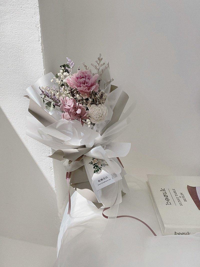 母親節康乃馨花束(紫)  康乃馨 花束 永生花 媽媽 FLORAFLOWER