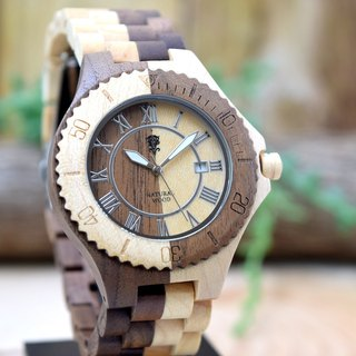 EINBAND Meer Walnut & Maple 42mm Wooden Watch