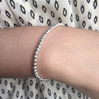 Sterling Silver Ball Bracelet | Friendship Bracelet | Ball Bracelet