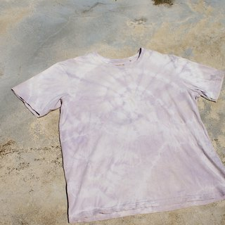 Plant dye top OM top T-shirt Yoga Top Natural dye