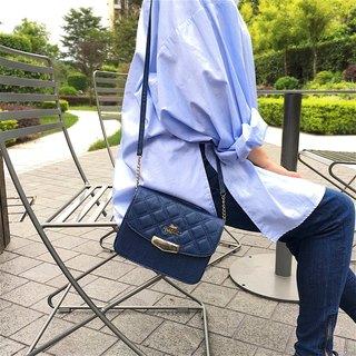 Aristocat Waterproof Heavy Denim 2 Ways Boxy Mini Bag