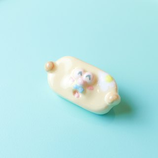 Showcase discount ㄉㄨㄞㄉㄨㄞ Ceramic badge Unique safety pin Brooch badge Medallion clip Cute pin kignjun