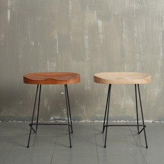 Industrial style _ solid thin iron shape high chair / coffee shop / commercial space**accept customized**