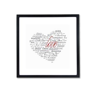 HomePlus Decorative Frame - LOVE 43x43cm Homedecor Loft