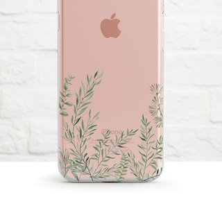 Grass Braids, Clear Soft Case, iPhone X,  Samsung