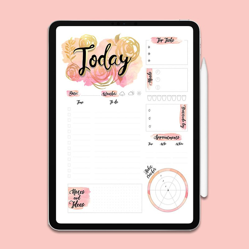 Daily To Do List | To Do List Printable | Planner | Printable Planner