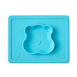 United States EZPZ Care Bears joint meal bowl - wish Bear silicone non-toxic tableware safety
