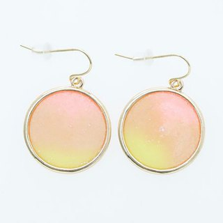 Pre-ordered elegant sunset and ocean earrings (two colors) KXXZ8677