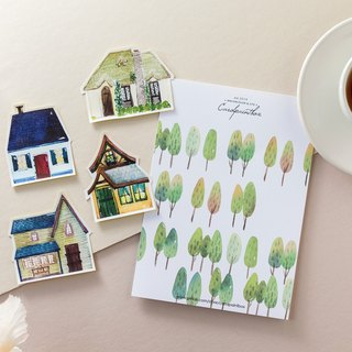 Kairuo Forest Town / Small House III Sticker Pack
