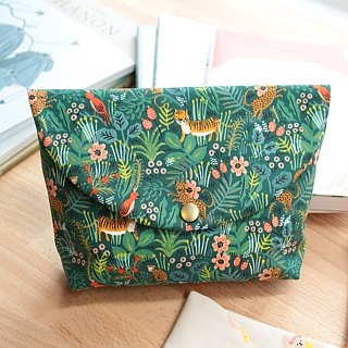 Forest animal cosmetic bag lovely pen bag storage file camera bag