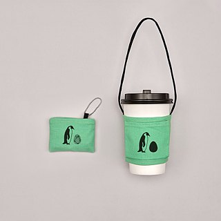YCCT Eco Beverage Bag Classic - Penguin - Patent Storage is not afraid to forget