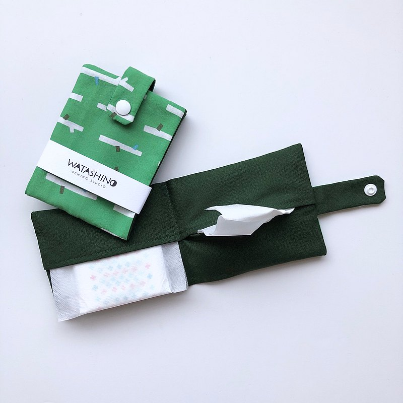 WATASHINO Living Proposal Personal Storage Kit 【Nordic Forest-Green】