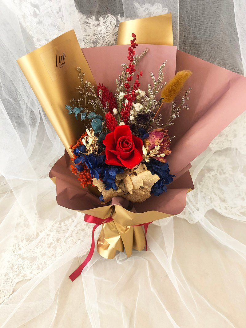 Lin Eternal Life Red Rose Mother's Day Special / Eternal Life Bouquet