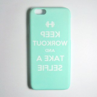 SO GEEK phone shell design brand THE SELFIE GEEK Fitness Self-paragraph (green)
