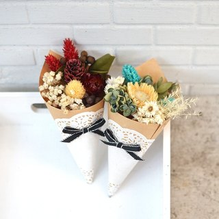 Mushroom | Dry Mini Bouquet - Christmas Special Edition Dry Flower Exchange Gift Wedding Small Things Graduation Gift