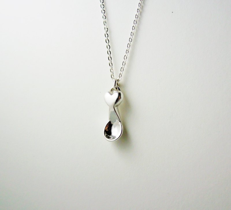 Silver spoon silver necklaces hand-made Mi-month gift / bracelet / clavicle chain / gift / anniversary
