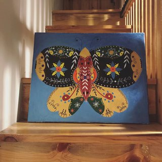 Decorative Painting Original Design - Butterfly