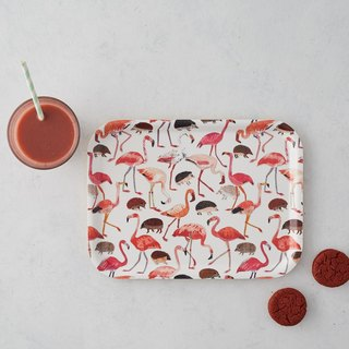 NEW: FLAMINGOS AND HEDGEHOGS CROQUET RECTANGLE TRAY