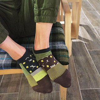 socks_woodland/ irregular / socks / stripes