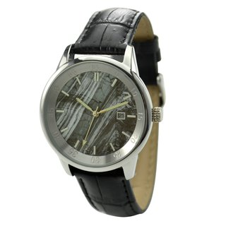 Marble Pattern Watch Black Face - Free shipping