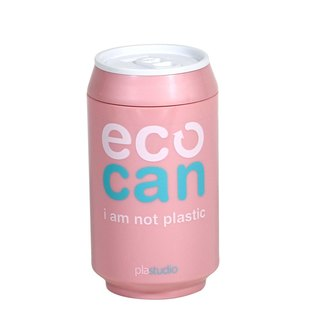 PLAStudio-ECO CAN-280ml-Made from Plant-Pink
