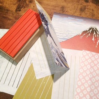 Origami Otami ruled line stamp