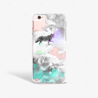 Fox iPhone 7 Case Clear iPhone 8 Case Clear iPhone 7 Plus Case Clear iPhone 6S