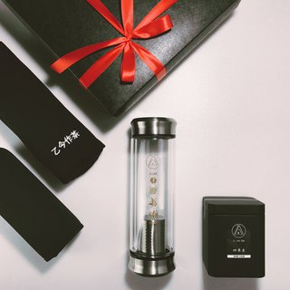 [simple-black gift box series] SHARE double glass brewing bottle / four seasons green