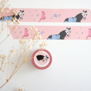 Kitten puppy dog ​​birdie 3cm yinke paper tape