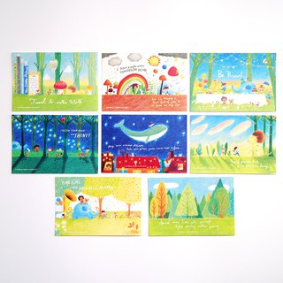 Traveller Postcard Set 2