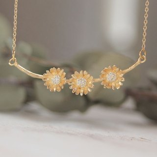 Chrysanthemum Necklace