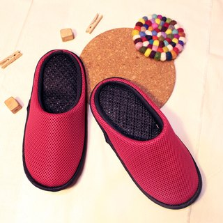 AC RABBIT performance indoor air cushion slippers - all-inclusive - Red comfort decompression original / sp-1208T-Mrd