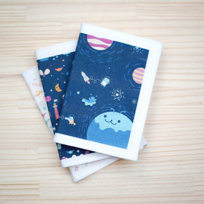 [Lonely Planet] A5 clothing - space travel + blank notebook