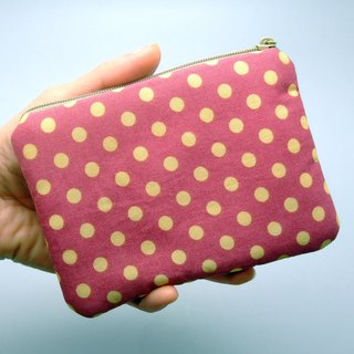 Zipper pouch / coin purse (padded) (ZS-118)