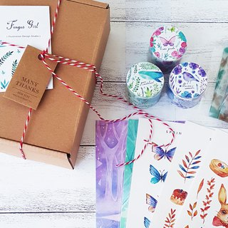 Goody Bag - Eden Garden 20% Off Bag Paper Tape Sticker All Inclusive