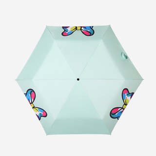 [Germany kobold] Disney officially authorized -6K rain and rain dual-use umbrella - colorful Minnie