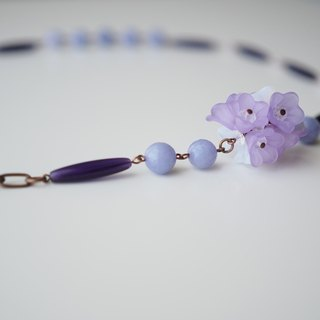 Necklace項鍊: Queen's Good Old Days Necklace (Lavender薰衣草) - N037