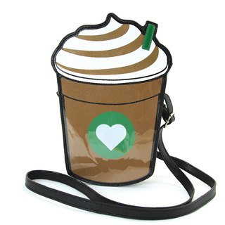 Sleepyville Critters - Frapuccino Cross Body Bag