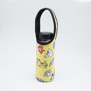BLR Water Bottle Tote A Monst A Day [ Lazy Cat ] TC23
