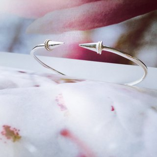 925 sterling silver punk [arrow mobile bracelet]