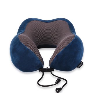 Murmur pressure neck pillow / fashion blue NP002