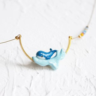 Whale handmade necklace I Story_Ocean Love