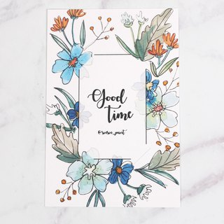 Good Time Botanical Instax Photo Frame Card - Fresh